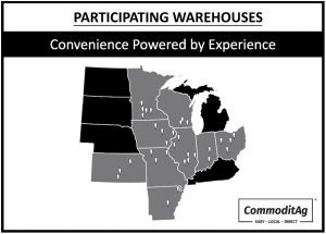 Participating Warehouses